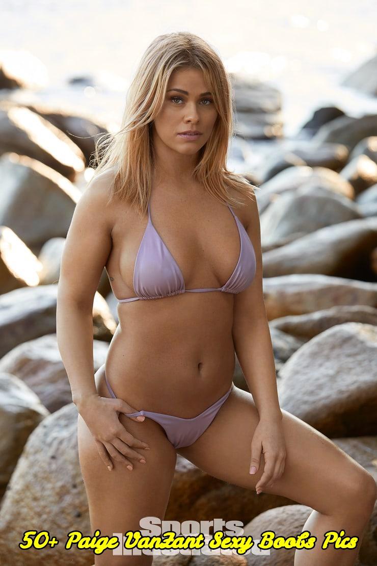 Paige VanZant sexy boobs pics
