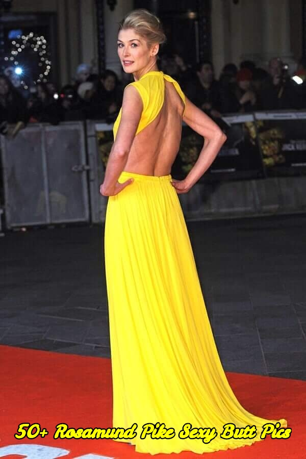 Rosamund Pike sexy butt pics