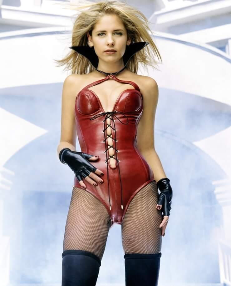 Sarah Michelle Gellar hot lingerie pics
