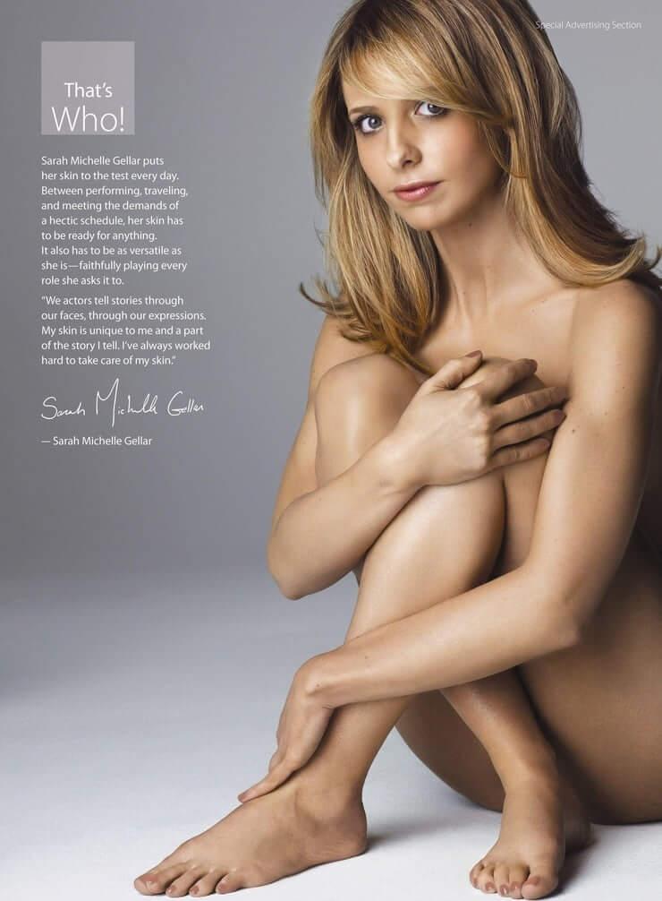 Sarah Michelle Gellar naked pics