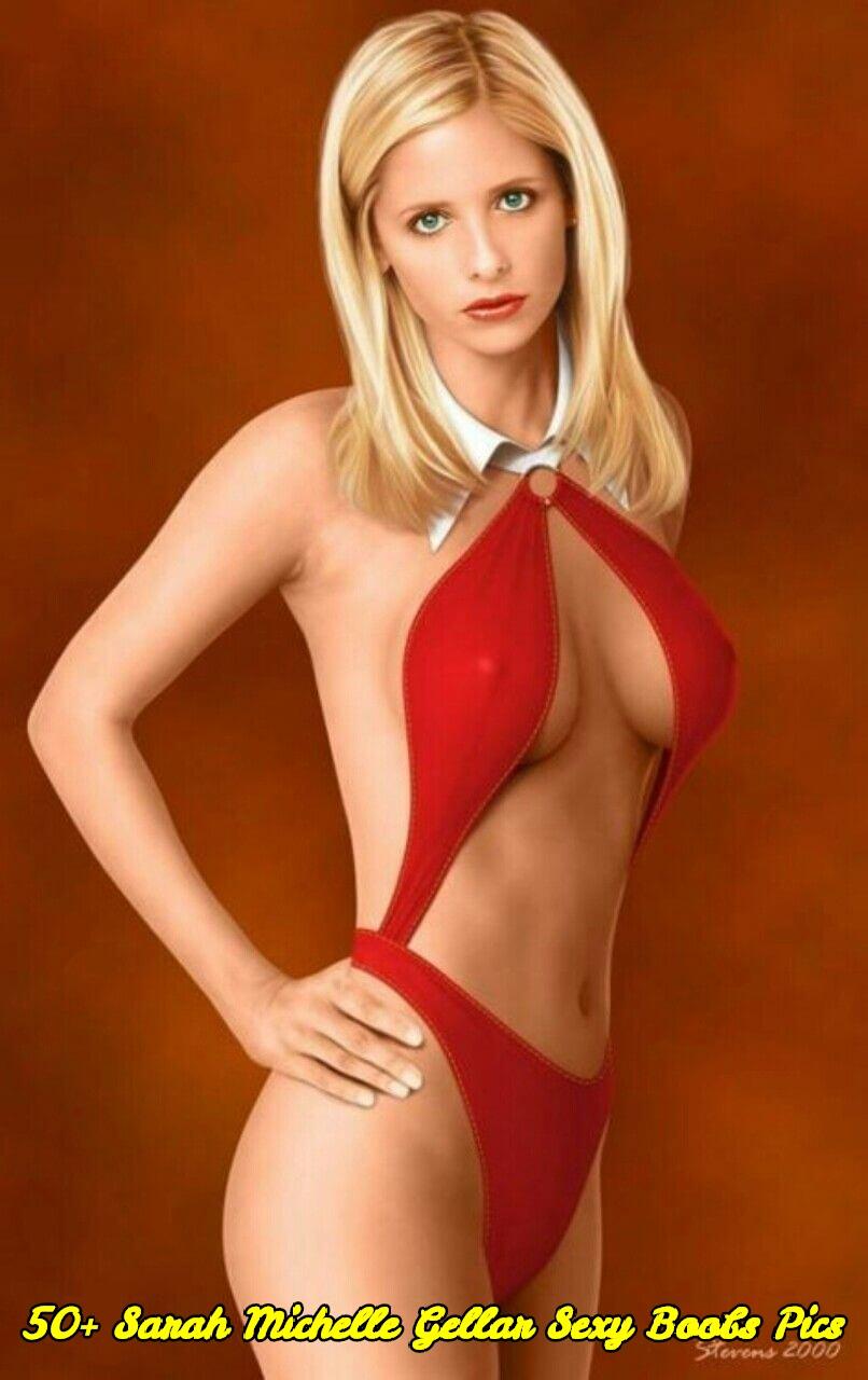 Sarah Michelle Gellar sexy boobs pics