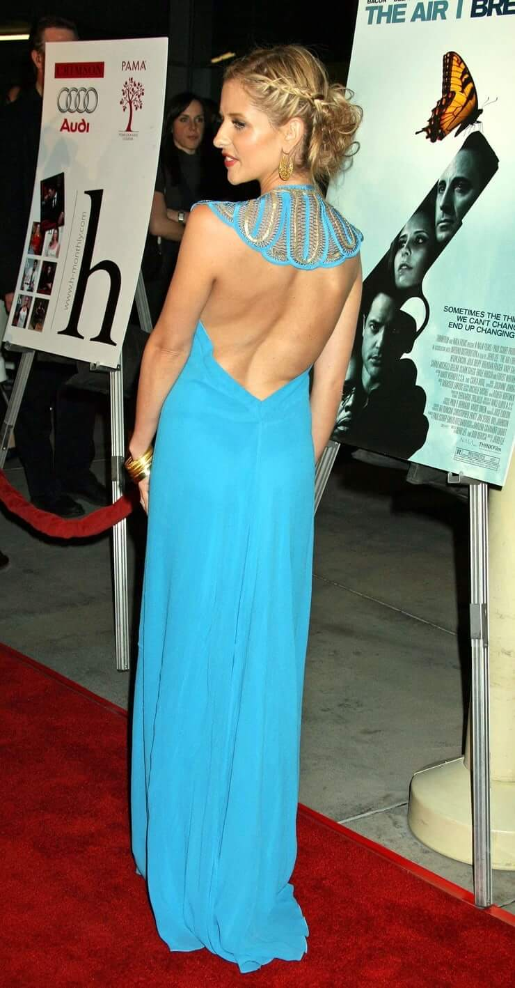 Sarah Michelle Gellar sexy booty pictures