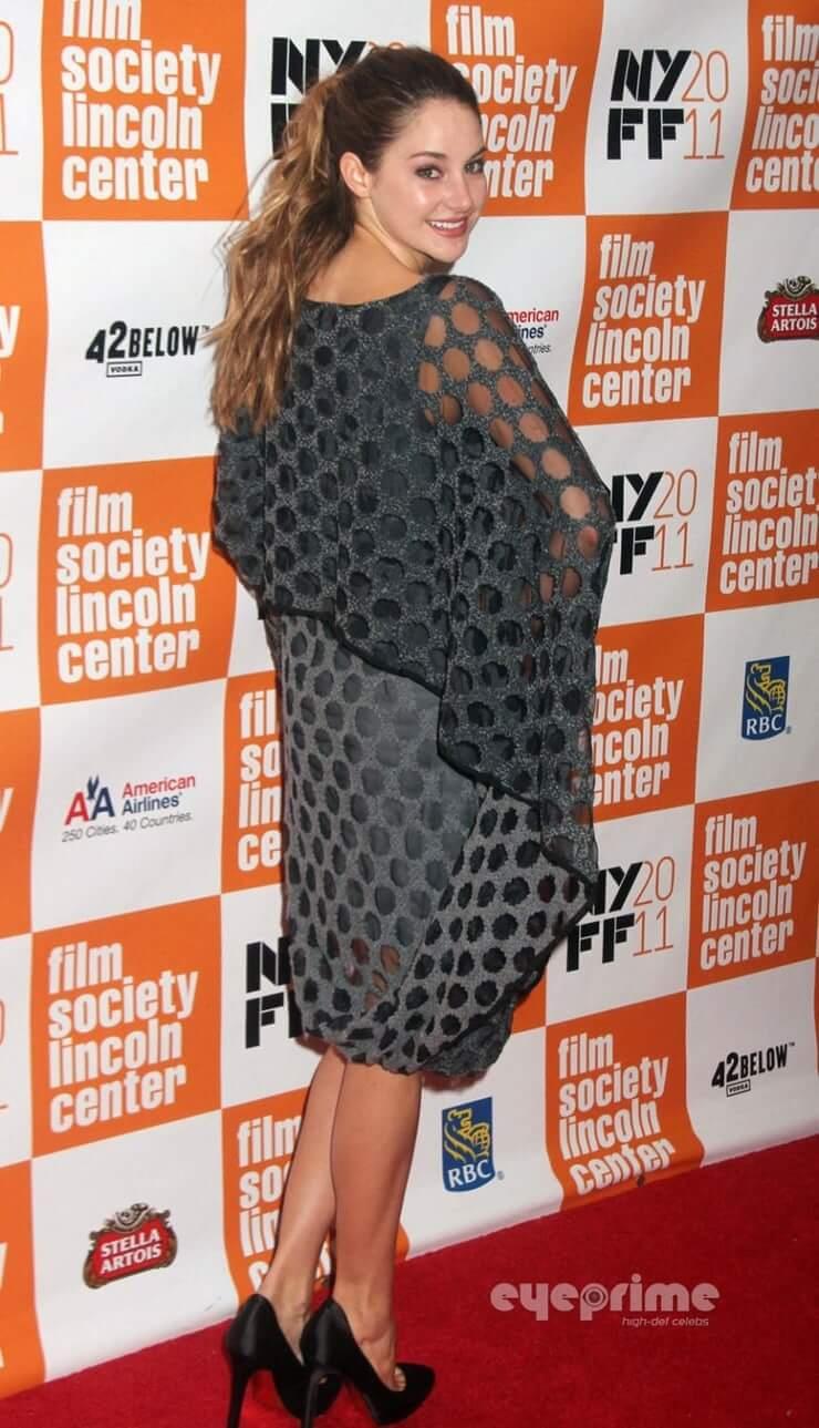 Shailene woodley ass