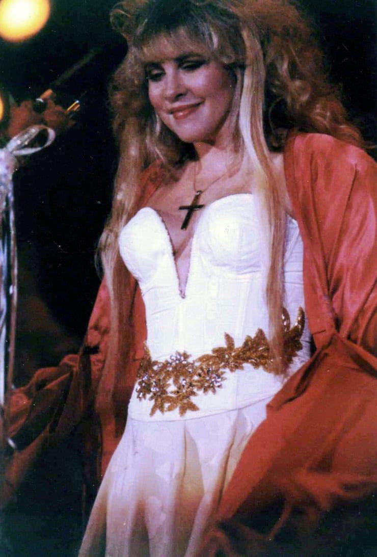 Stevie Nicks sexy look