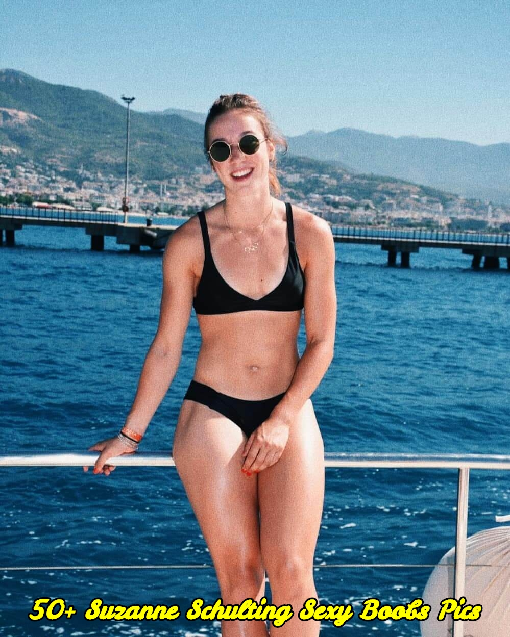 Suzanne Schulting sexy boobs pics