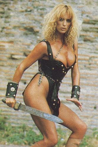 Sybil Danning hot lingerie pics