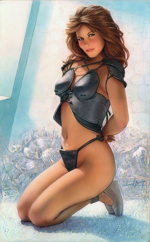 Tawny Kitaen sexy look pic