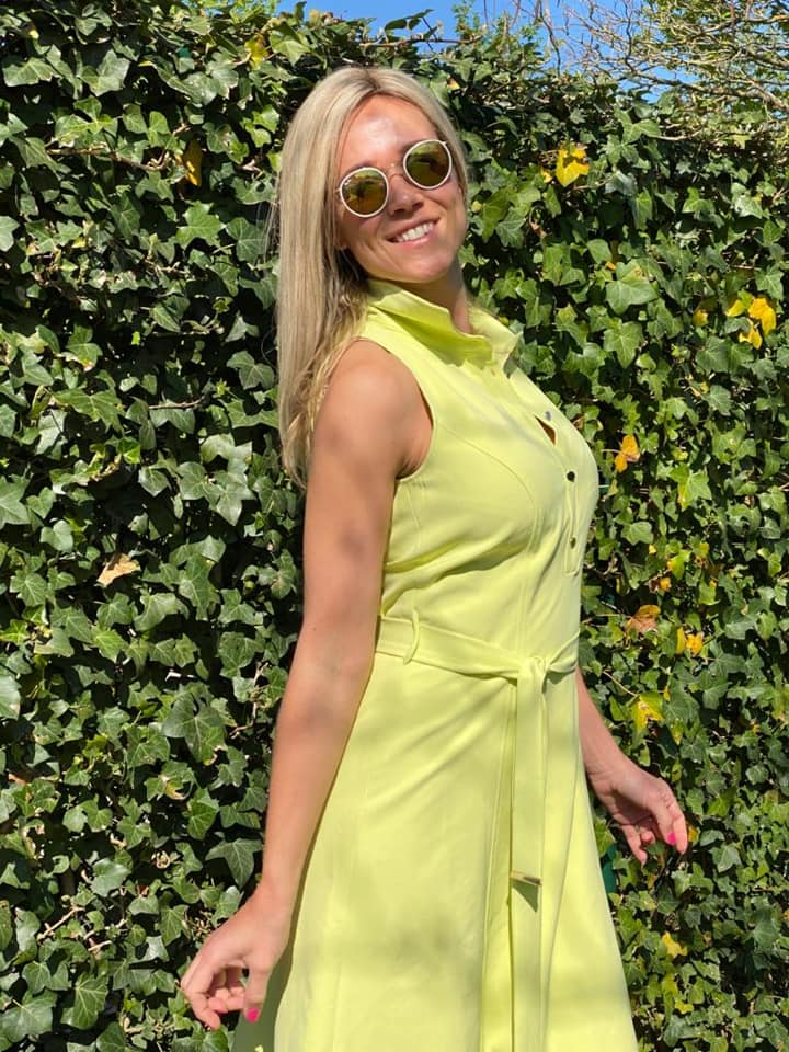 Virginie Claes sexy look pic
