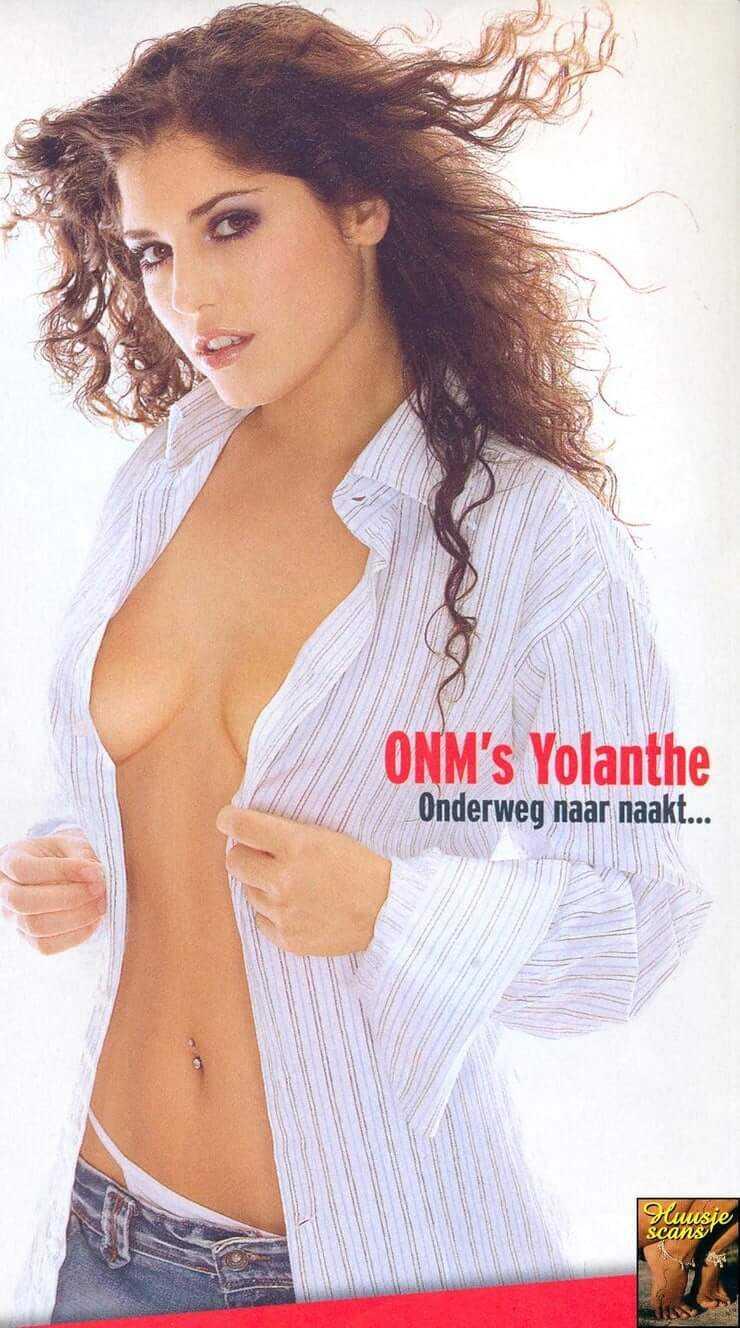 Yolanthe Cabau van Kasbergen sexy side boobs pics