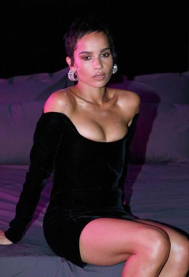 Zoë Kravitz big boobs pics