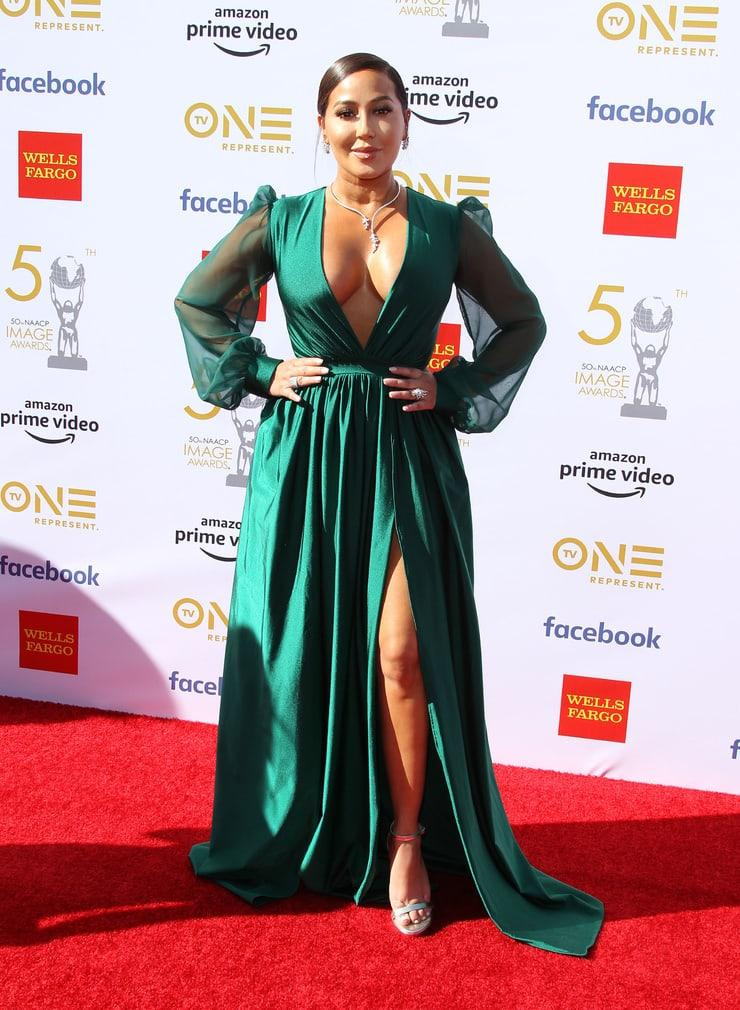 adrienne bailon red carpet