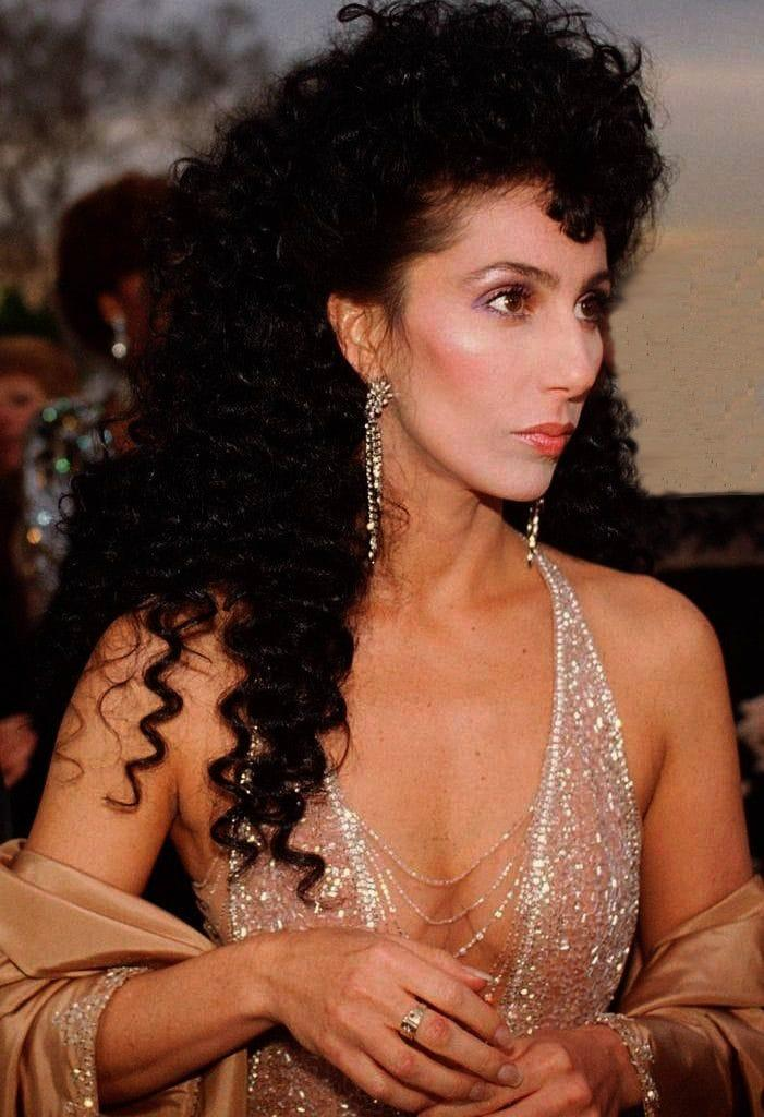 cher cleavage