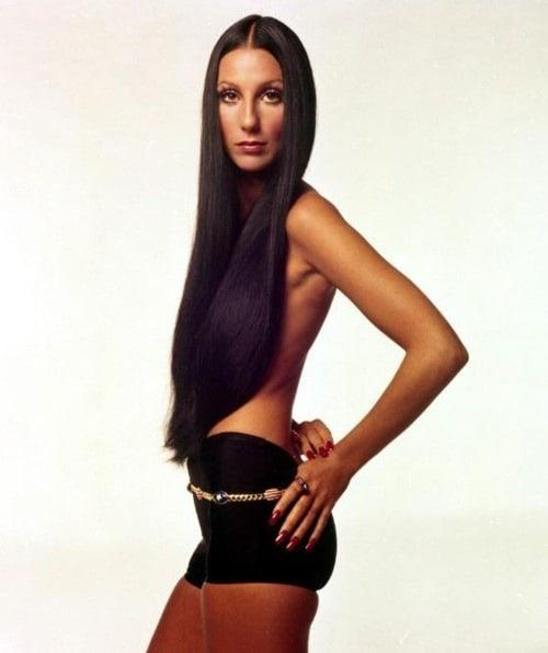 cher topless