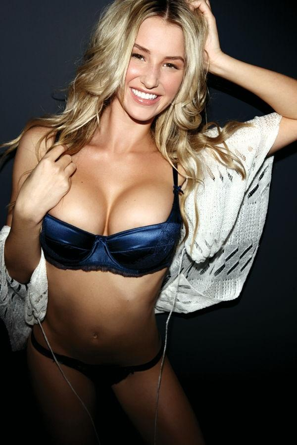 danica thrall cleavage