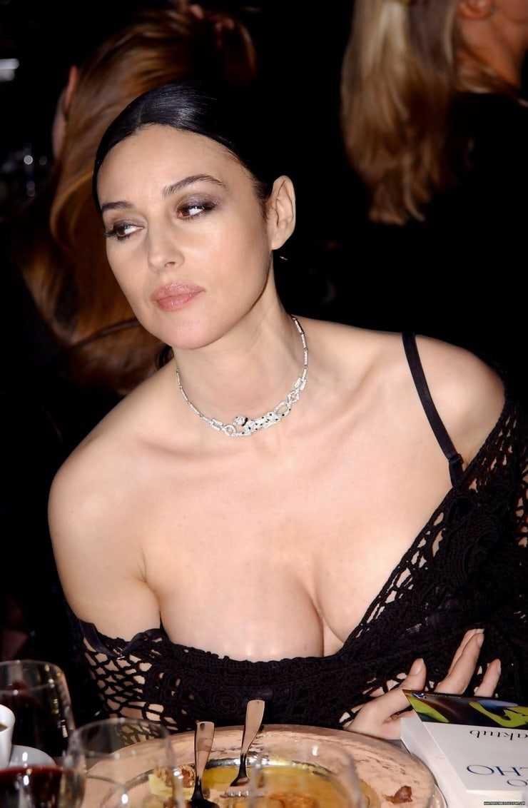 monica bellucci cleavage