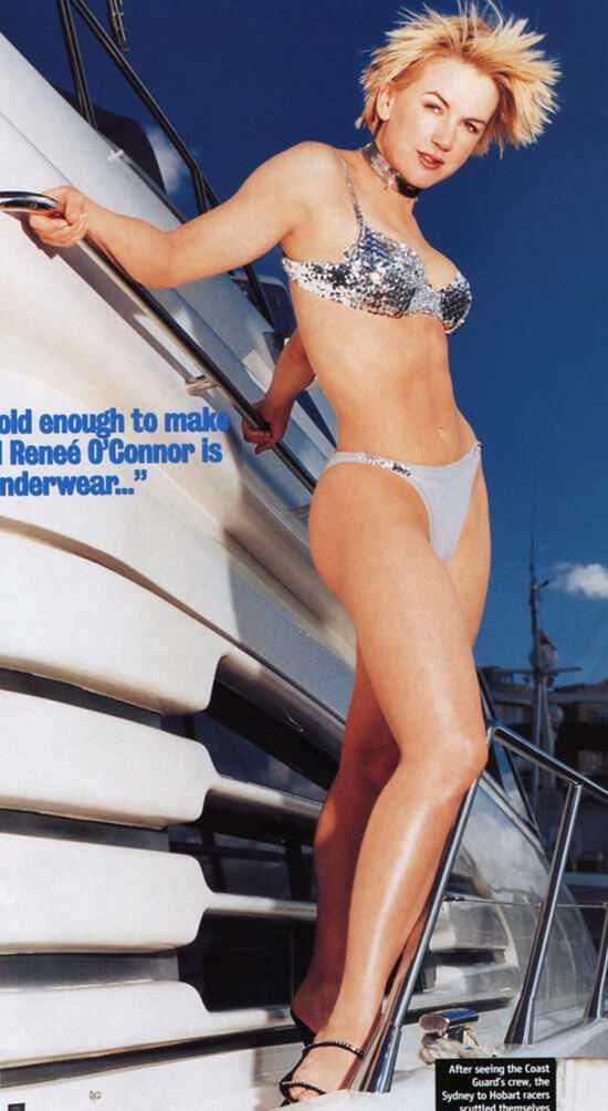 renee o'connor hot legs