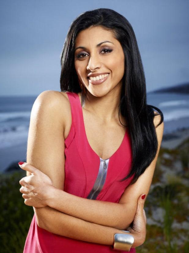 reshma shetty cleavage