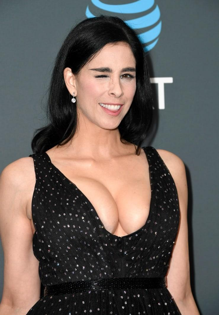 sarah silverman cleavage