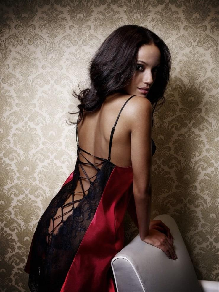 selita ebanks sexy back