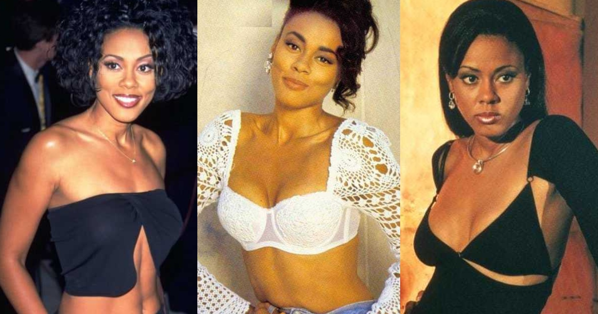 45 Sexiest Lela Rochon Boobs Pictures Are Just The Right Size To Look And Enjoy