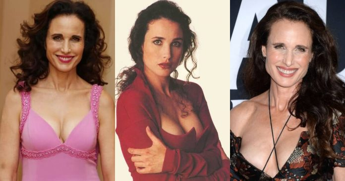 51 Hottest Andie MacDowell Boobs Pictures Show Off Her Perfect Set Of Racks