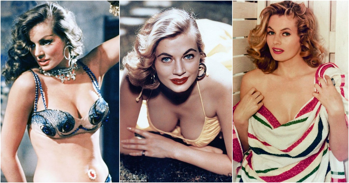 51 Hottest Anita Ekberg Boobs Pictures Show Off Her Perfect Set Of Racks
