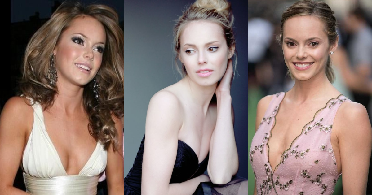 51 Hottest Hannah Tointon Boobs Pictures Expose Her Perfect Cleavage