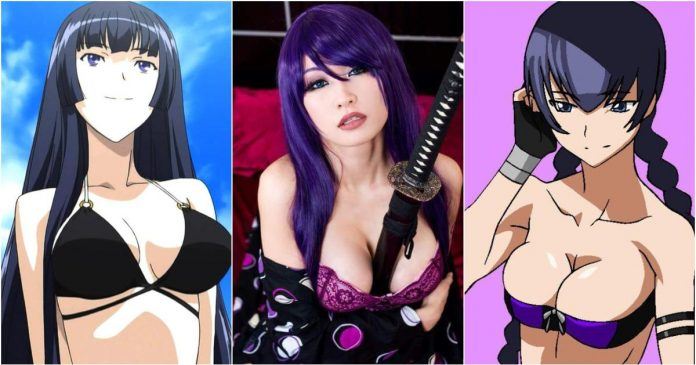 51 Hottest Saeko Busujima Boobs Pictures Show Off Her Perfect Set Of Racks