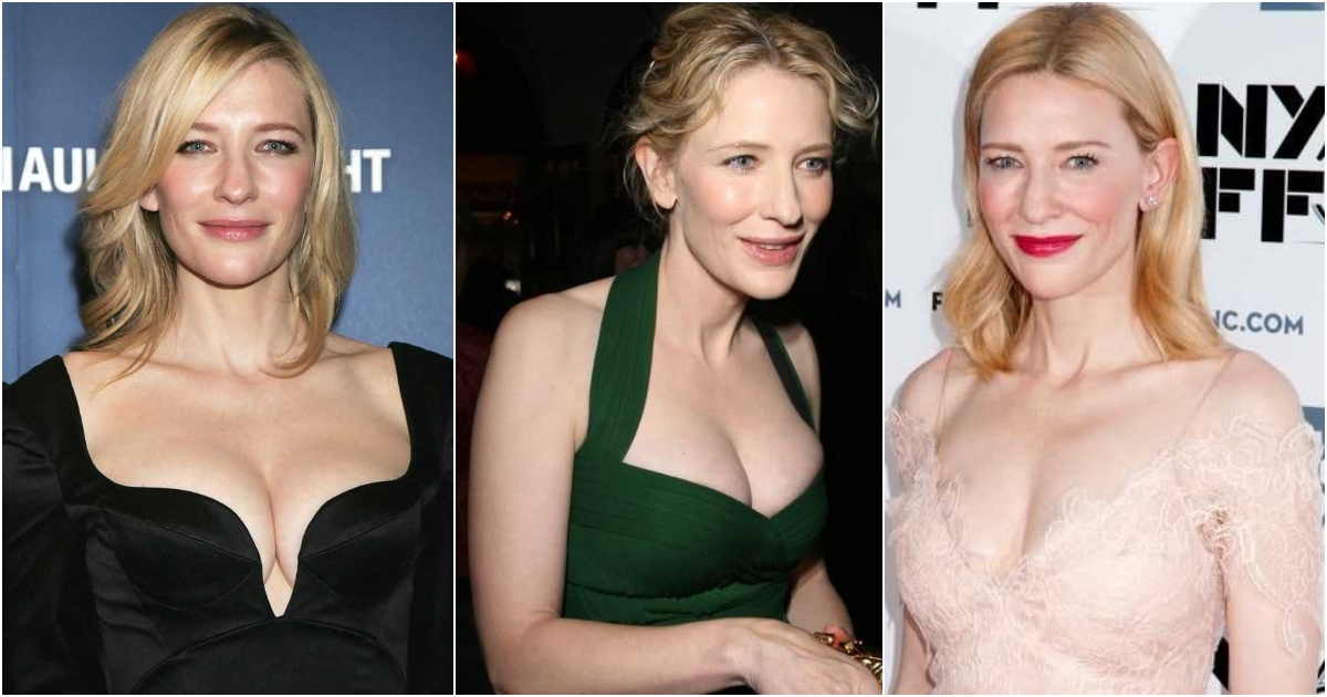 51 Sexiest Cate Blanchett Boobs Pictures An Exquisite View In Every Angle