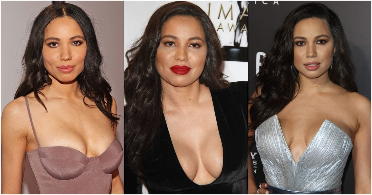 51 Sexiest Jurnee Smollett-Bell Boobs Pictures That Compliment Her Neck Nape
