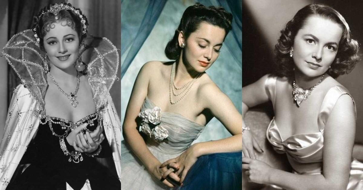 51 Sexiest Olivia de Havilland Boobs Pictures Will Tempt You To Bury Your Head In-between