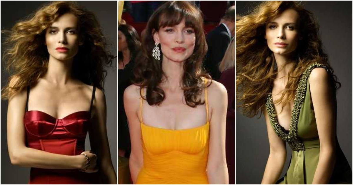 51 Sexiest Saffron Burrows Boobs Pictures That Compliment Her Neck Nape