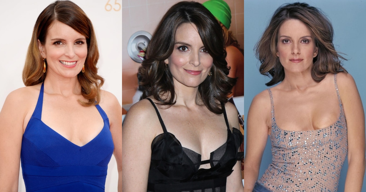 51 Sexiest Tina Fey Boobs Pictures That Compliment Her Neck Nape