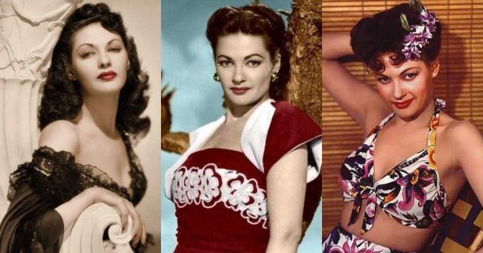 51 Sexiest Yvonne De Carlo Boobs Pictures Show Off A Different Appearance In Each Attire