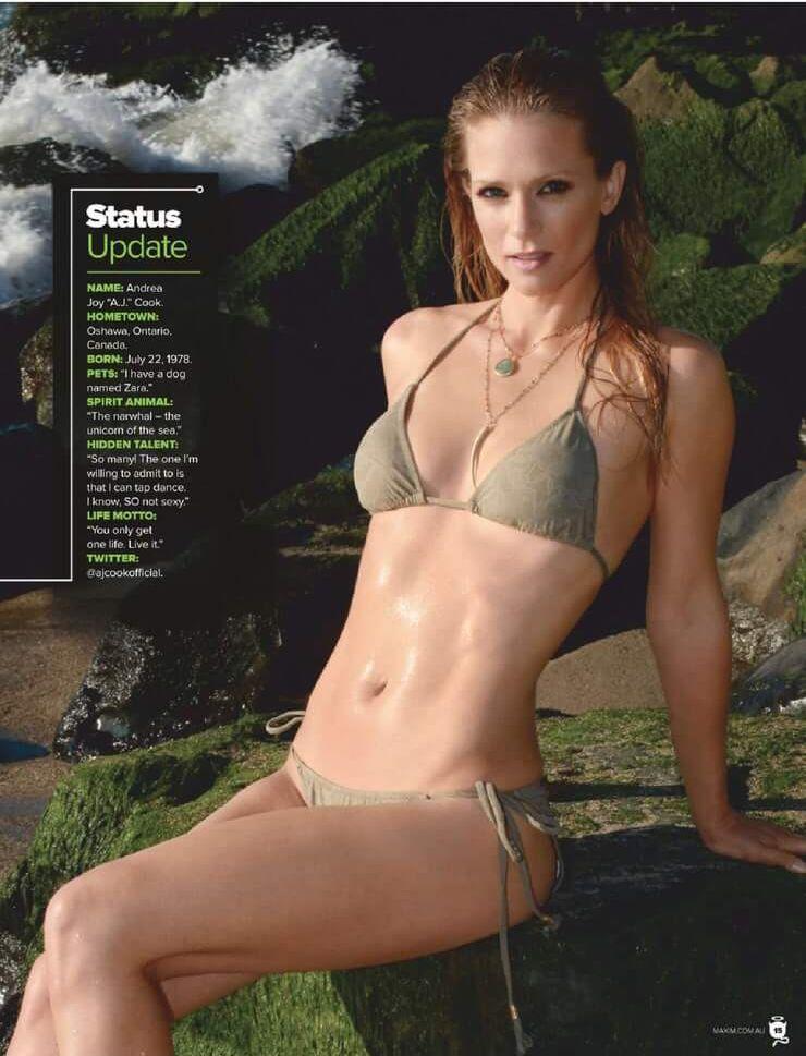 A.J. Cook bikini pics