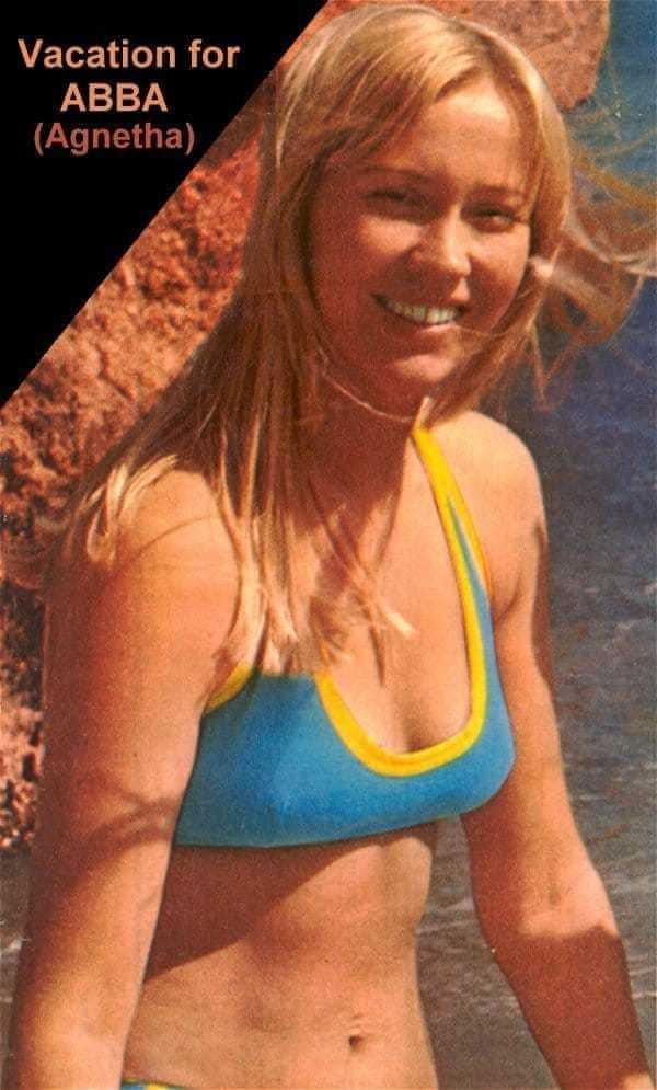 Agnetha Fältskog hot bikini pictures