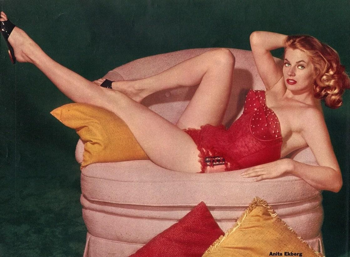 Anita Ekberg hot pics