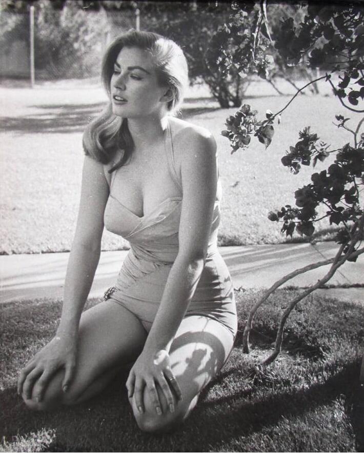 Anita Ekberg hot topless pics