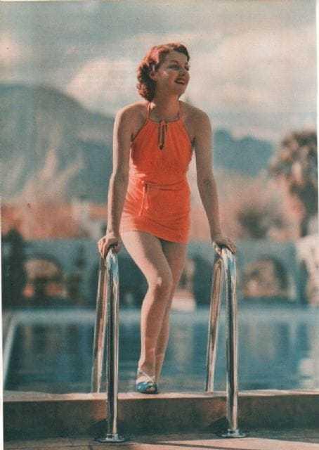 Ann Sheridan lingerie pics