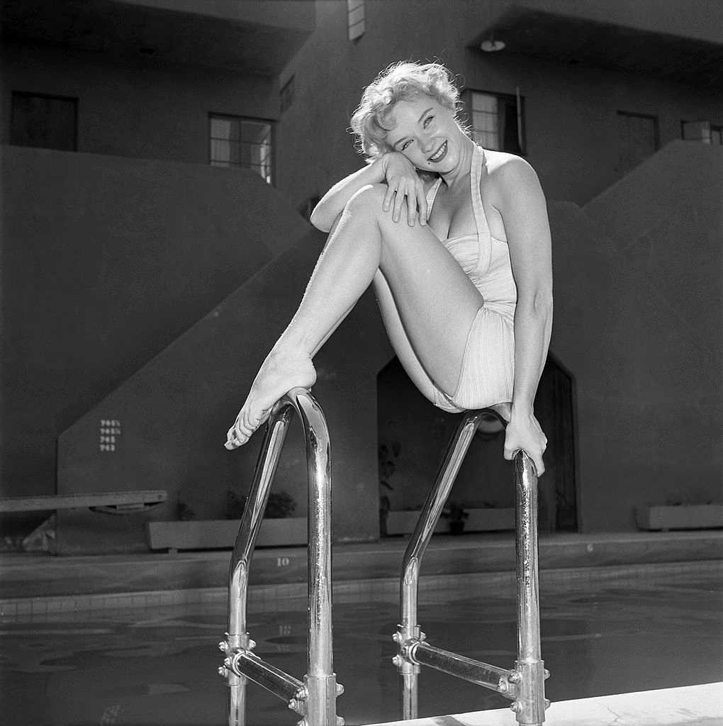 Anne Francis lingerie pics