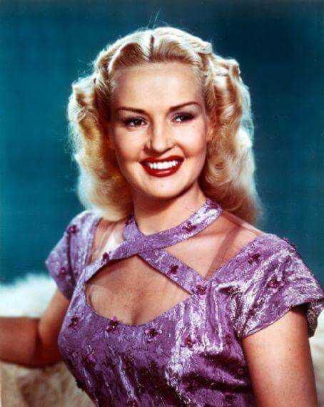 Betty Grable big boobs pics