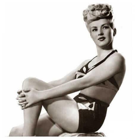 Betty Grable hot look pics