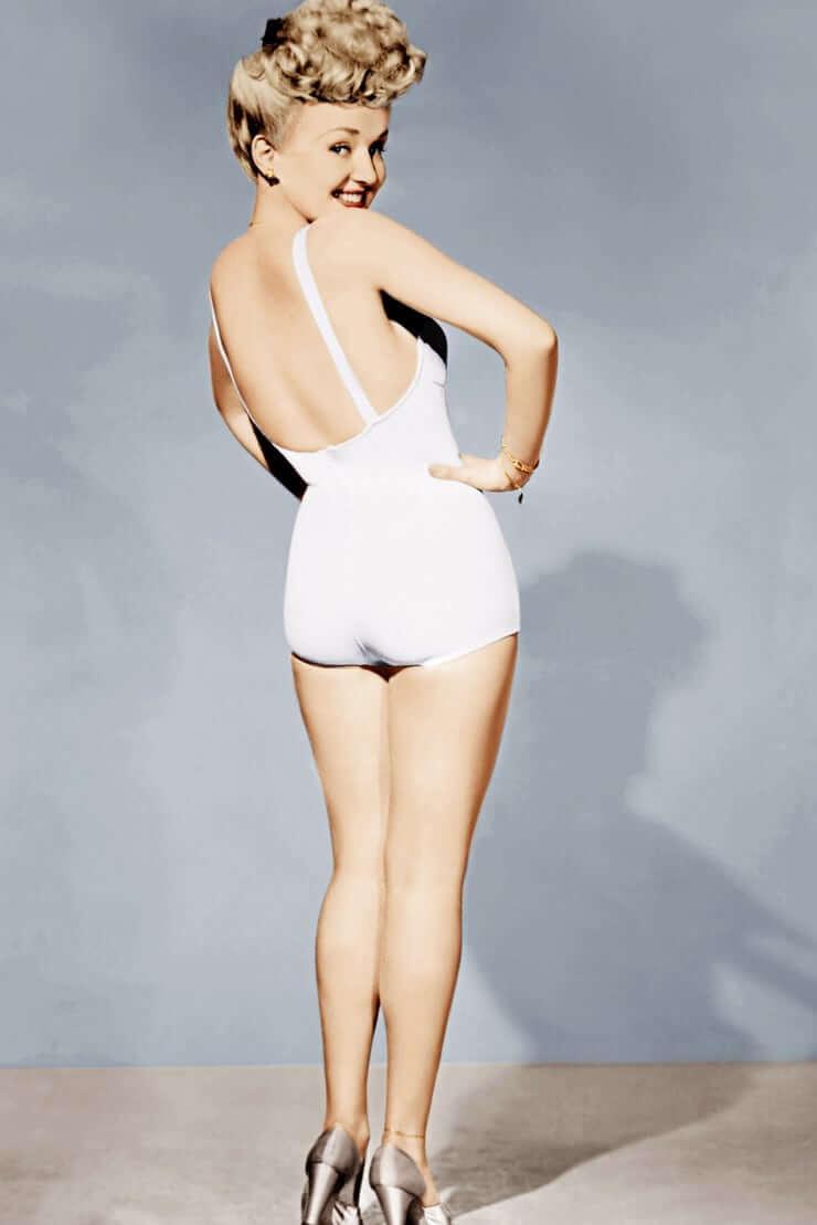 Betty Grable sexy ass pics