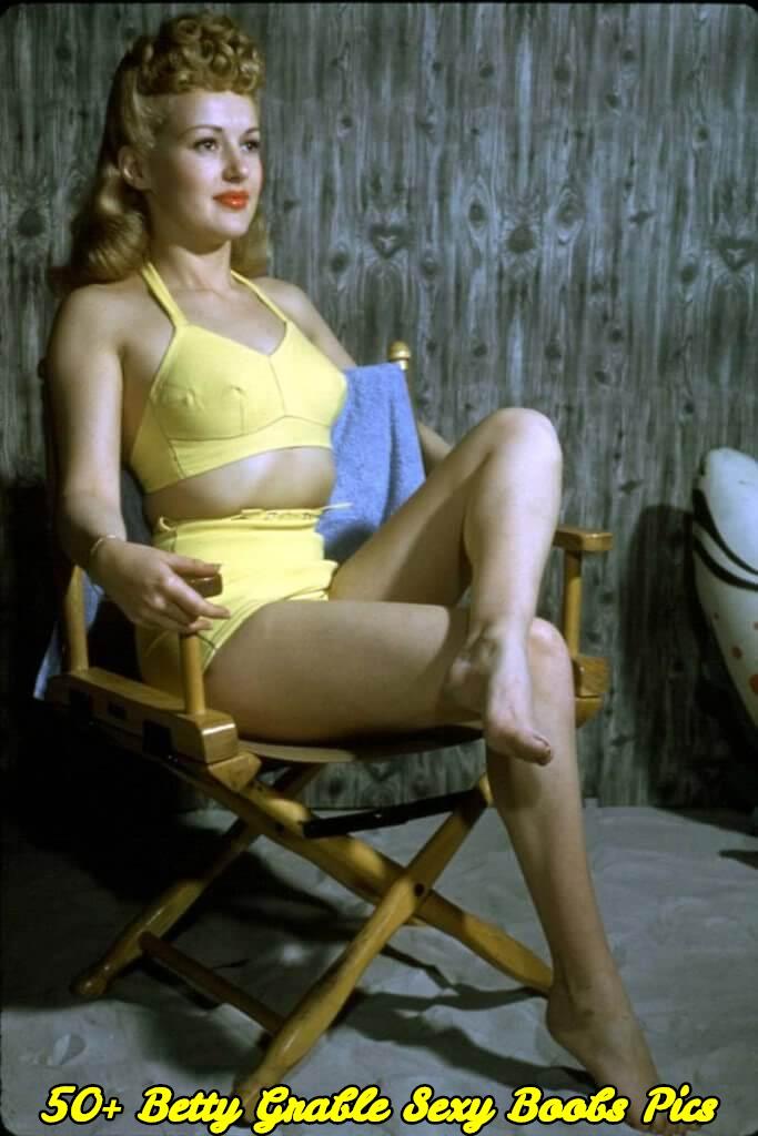 Betty Grable sexy boobs pics