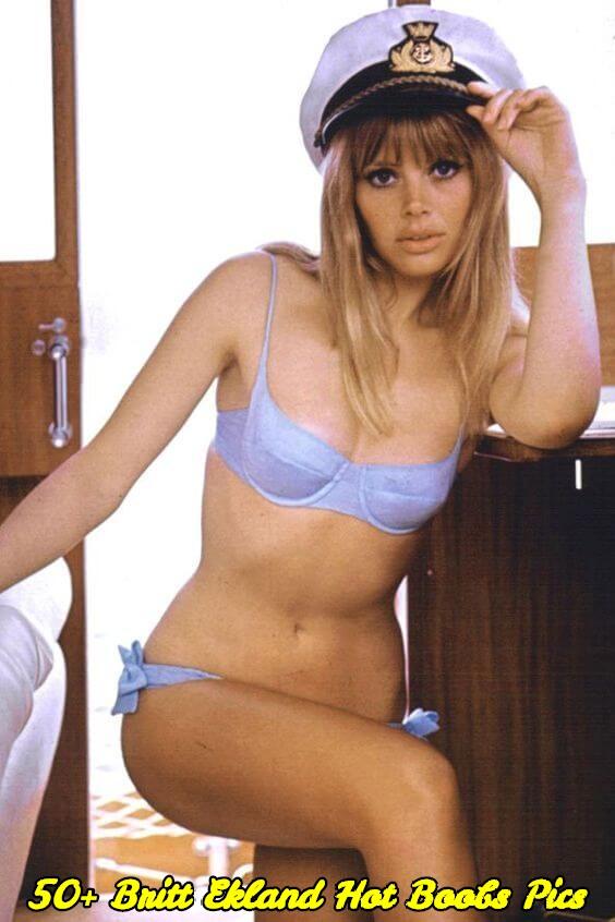 Britt Ekland hot boobs pics