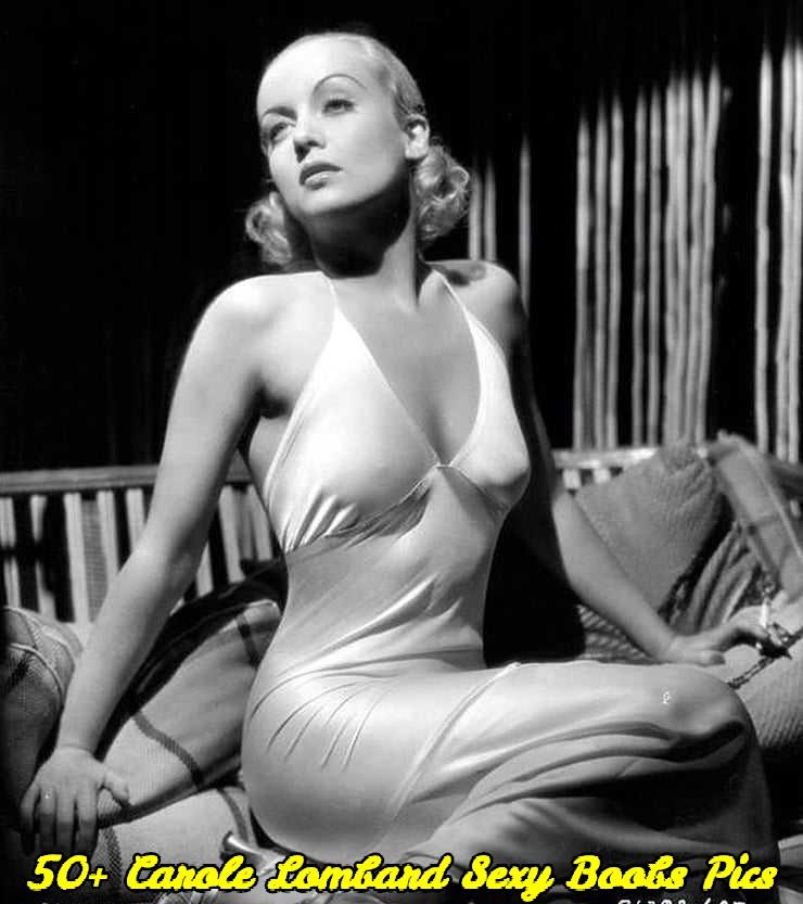 Carole Lombard sexy boobs pics