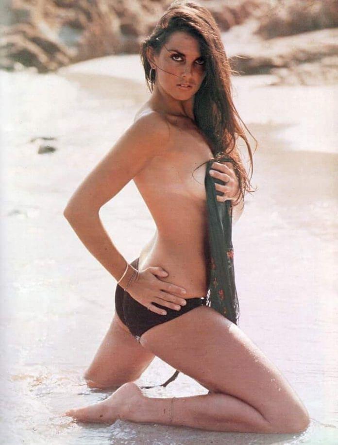 Caroline Munro sexy side boobs pics