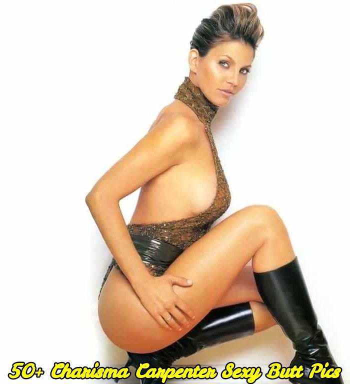 Charisma Carpenter sexy butt pics