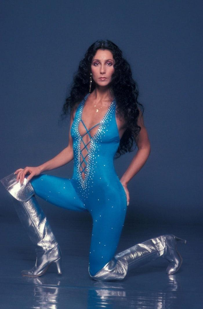 Cher sexy cleavage pics