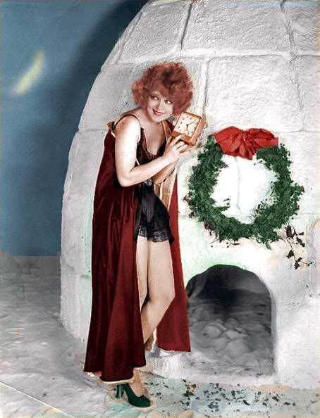 Clara Bow hot lingerie pics